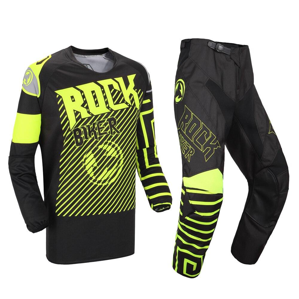 Combinaison de Motocross motomotard course équitation Jersey pantalons ensembles Combos Moto vêtements Moto Dirt Bike MX ATV ensemble de vitesse