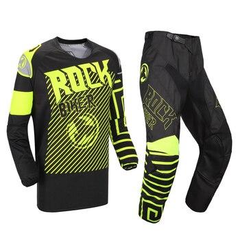 Motocross Pants & Jersey Combos MX Racing Suit Gear Combination Motorcycle Moto Off-road Dirt Bike MX ATV Gear Set 2017 naughty fox mx shiv 360 motocross gear set off road racing suit motocross jersey and pants