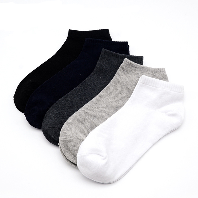 Underwear & Sleepwears Bright Pier Polo Male Socks 5 Pair Summer Cotton Casual Mens Boat Socks Breathable Deodorant Male Socks Stripe Matching Calcetines Sox