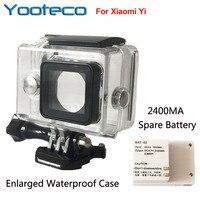 For Xiaomi Yi Sport Camera Yi Accessories Xiao Yi External Bacpac Battery Enlarged Waterproof Housing Case
