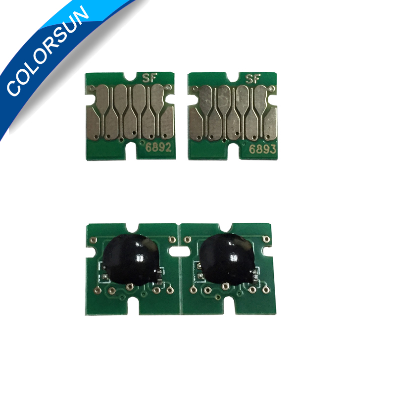 Colorsun 4 pc/set New Upgrade T6891-T6894 T6891 Cartridge Chip For <font><b>Epson</b></font> SureColor <font><b>S30670</b></font> S50670 S30675 S50675 Printer image