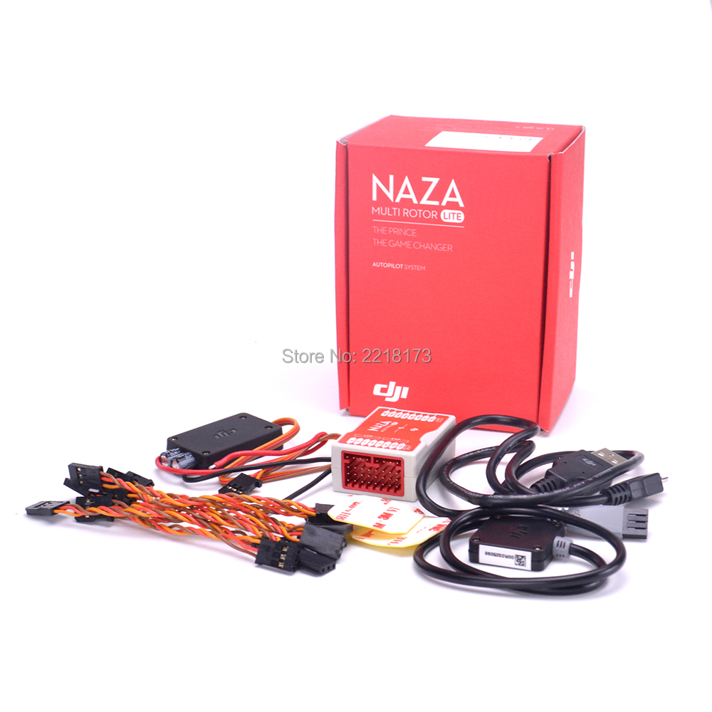 Naza M Lite Multi Flyer Version Flight Control Controller w/ PMU Power Module & LED &Cables Original