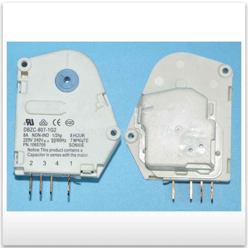 new good working High-quality for refrigerator Parts DBZC-807-1G2 refrigerator defrosting timer refrigerator parts fridge defrost timer 57 33mm tmdf 702zd1