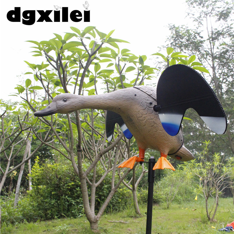Wholesale & Retail Mojo Duck Remote Control Decoy Duck Duck Hunting With Magnet Spinning Wings 2017 xilei wholesale outdoor russian high quality hunting duck decoy mojo duck free duck hunt with magnet spinning wings