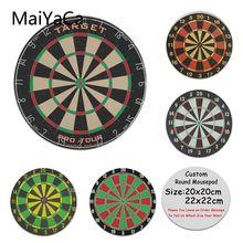 840de188c58 MaiYaCa Design Darts target Printing Silicone Pad to Mouse Game Anti-Slip  Laptop PC