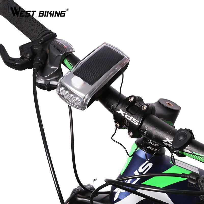 Bicycle Light USB Direct 4000mAh Rechargeable Mountain Bike Horn Headlight UK