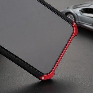 Image 3 - Armatura di lusso di Alluminio del Metallo + PC Del Telefono Proteggere Funda Coque Copertura Per il iPhone 11PRO MAX X XS XR 8 6 6S 7 Più di 5S SE Caso