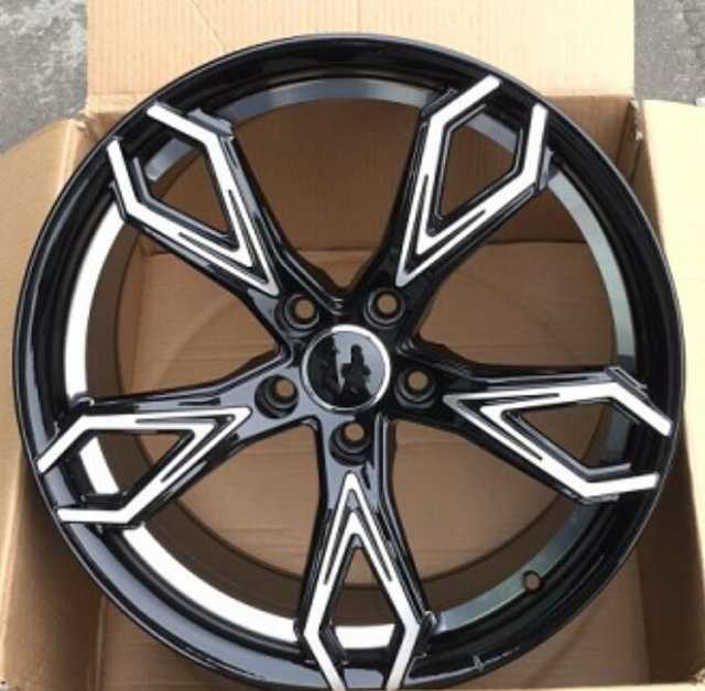 18 Inch Tires >> Nice 18 Inch 5x112 5x114 3 Car Alloy Wheel Rims Fit For Audi Volkswagen Mercedes Honda Civic