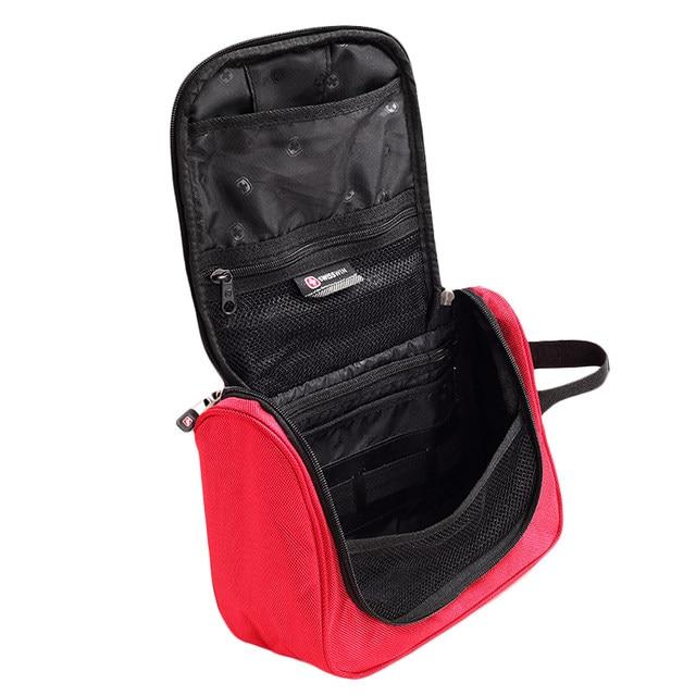 Beau Swisswin Makeup Organizer Waterproof Toiletry Bag Travel Cosmetic Bags  Hanging Bathroom Toiletry Kit For Necessaries