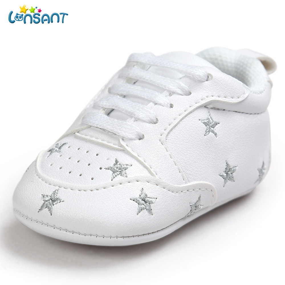 LONSANT Shoes Toddler Sneakers Star Soft-Sole Newborn-Baby Children Bandage Grils Five-Pointed