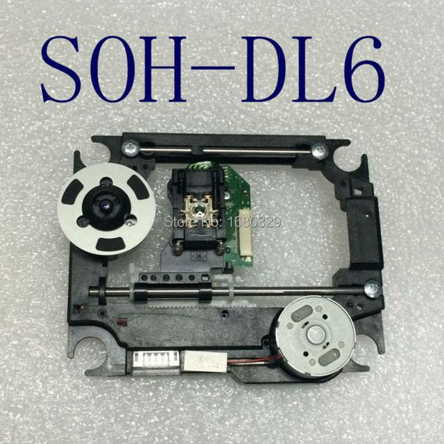 Original nuevo DVD laser SOH-DL6 con mech plástico CMS-S76 DL6 S76R mecanismo Óptico pick up