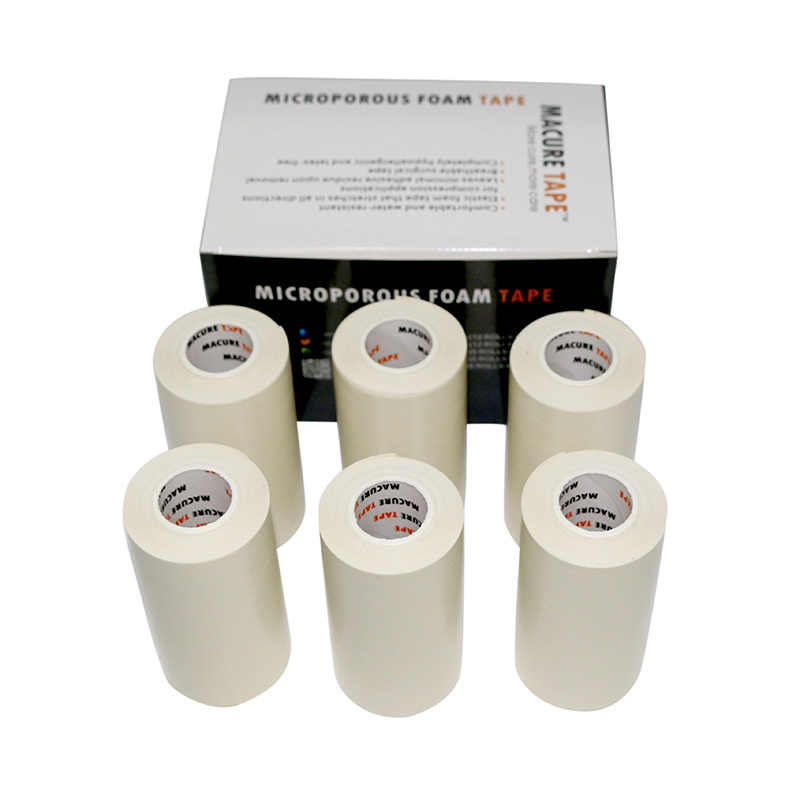 Macure Tape Microfoam First Aid Waterproof Tape Sports Adhesive Foam  Underwrap Medical Sports Tapes