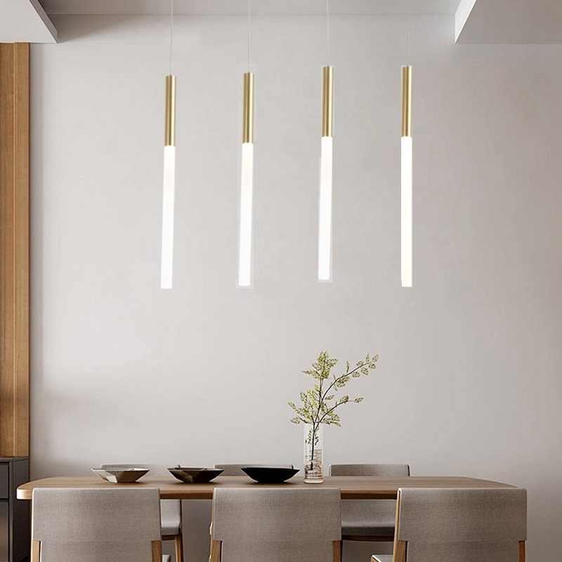 Lukloy Modern Pendant Lights Led Kitchen Light Lamp Bedside Hanging Ceiling Lamps Bedroom Living Room Lighting Fixtures