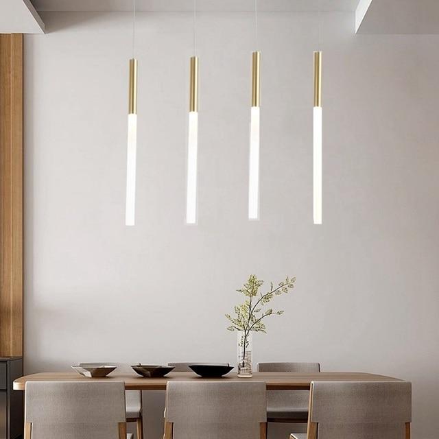 Lukloy Modern Pendant Lights Led Kitchen Light Lamp Bedside Hanging Ceiling Lamps Bedroom Living