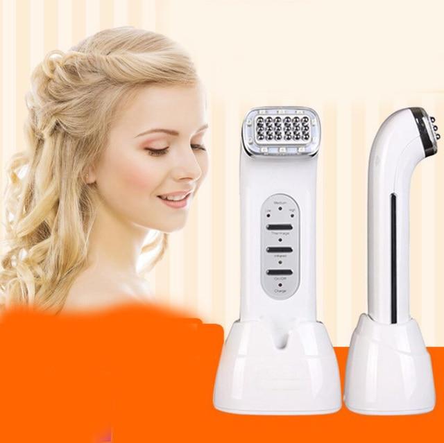Rechargeable RF Radio Frequency Anti-aging Facial Skin Lifting Beauty Machine Elemis Pro-Radiance Illuminating Flash Balm (salon Product)