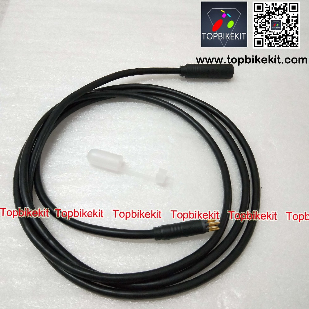 9pins motor extension cable 1.9m with waterproof cable connector for ebike