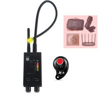 Pro Anti Spy Bug Finder Wireless Camera Lens Hidden Signal Detector GPS Tracker RF GSM Devices Magnetic M8000 Scanner