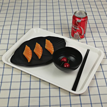 New Fashion Dish Melamine Tableware Ship Shape Chain Restaurant With A5