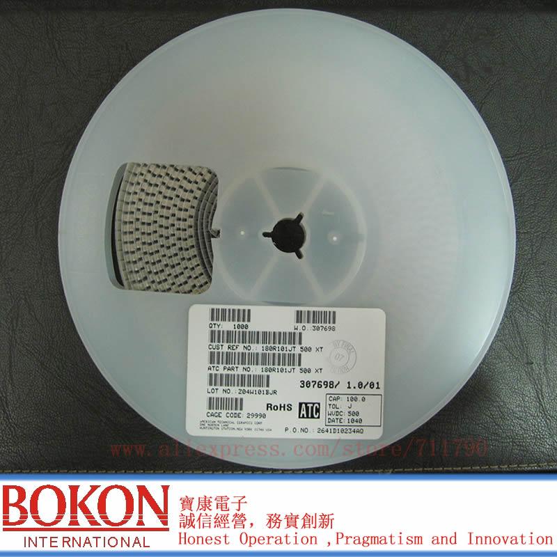 High Q Capacitors P90 ATC100B6R8BT500XT ATC100B6R8BW500XT ATC100B6R8BP500XT ATC100B6R8CT500XT  A6R8B A6R8C  6.8pF Chip Capacitor