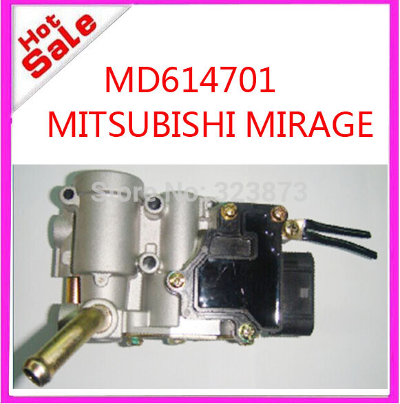 TOP QUALITY  Idle Air Control Valve IACV OEM  MD614701  brand new for for mitsubishi mirage 4G15 engine  T-0-P idle air control valve iacv 16022p2ea51