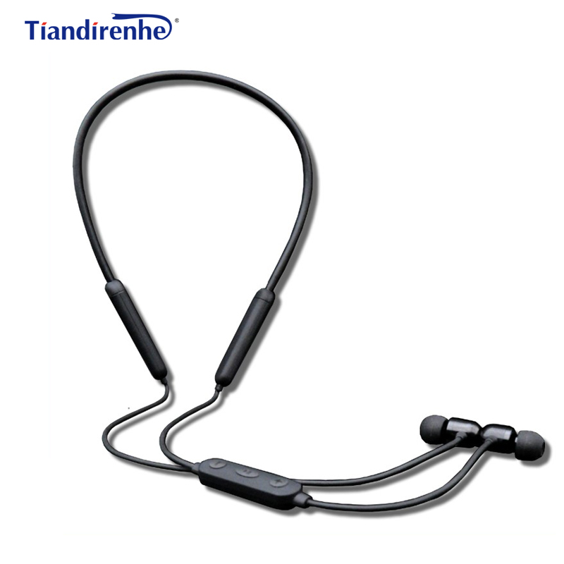 New Wireless Bluetooth Earphone Headphone Magnetic Stereo Bass Noise Canceling Neck Headset with mic for iPhone xiaomi Samsung 2017 new stereo wireless bluetooth 3 0 handsfree headset earphone with charging cable for iphone 6 samsung