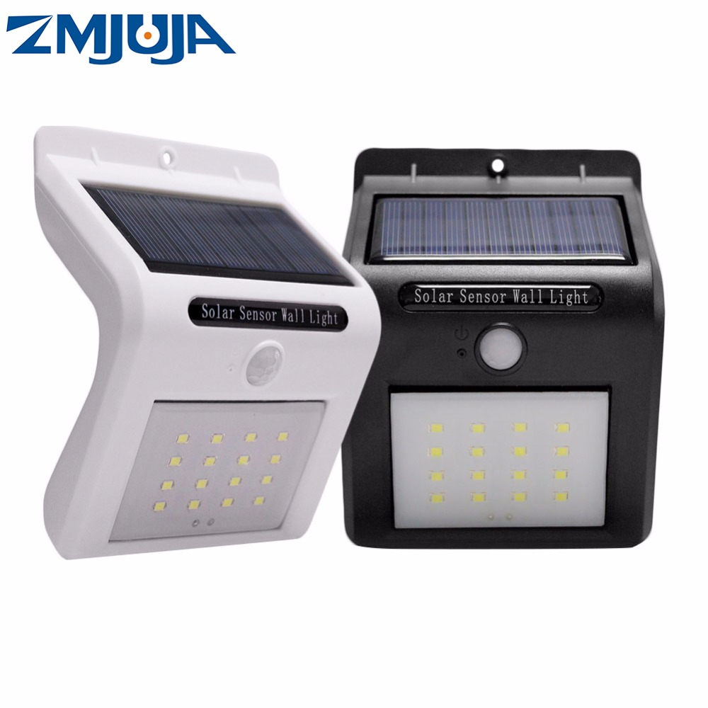 Newest Arrival Motion Sensor Solar Led Wall Light and Outdoor IP65 Led Wall Lamp for Garden Pathway Yard Lighting