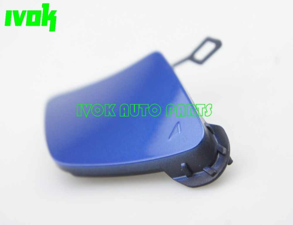 BMW Série 3 F31 Touring M Sport Arrière Tow Eye Cover In Blue 51128054211