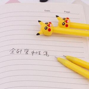 Image 4 - 36 PCs Korea creatieve cartoon gel pen leuke pocket pen student briefpapier