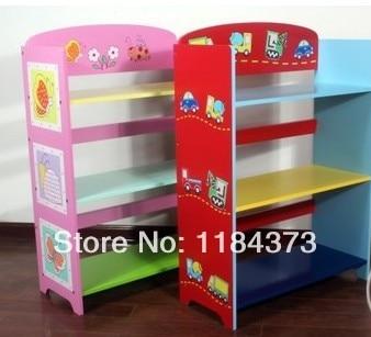 Boys And Girls Three Shelf Bookcase Bookcase Kids