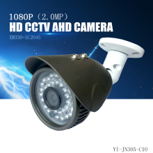 YiiSPO AHD 1080P bullet Camera 2.0MP analog Camera outdoor waterproof IR-cut XM320+SC2235 CCTV security camera AHD metal 60#