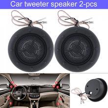 2pcs 150W Universal Durable High Efficiency Mini Half-Dome Car Tweeter