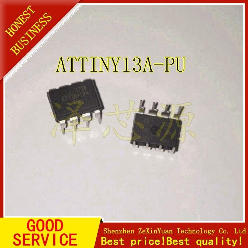 100pcs lots ATTINY13A PU ATTINY13 DIP 8 New original IC In stock