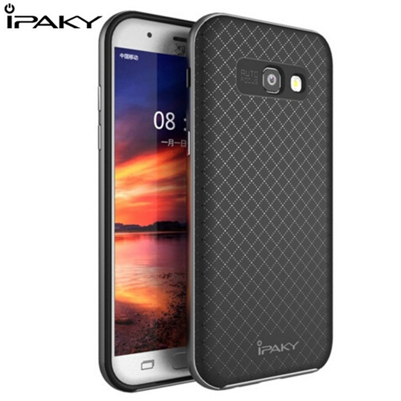 Original iPaky for Samsung Galaxy A5 2017 A5 A510f 2016 Armor Hybrid Protector Cover A3 A5 A7 A720 Hybrid Silicon PC Funda Coque