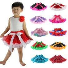 Для детей; для малышей; для девочек, пышная детская юбочка, юбка-пачка, юбка принцессы, Юбки Pettiskirt пачка От 1 до 10 лет