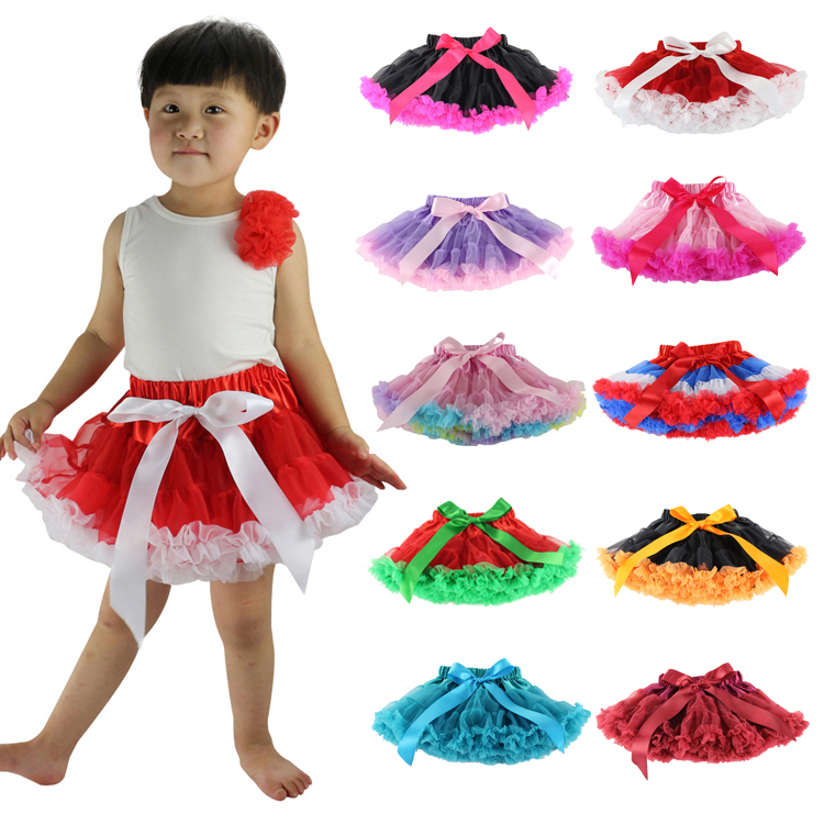 Rushed Saias Baby and Children Fluffy Pettiskirts Tutu Petti skirt Princess კალთები Pettiskirt Tutu1-10t უფასო გადაზიდვა