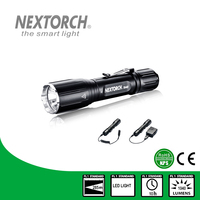 NEXOTRCH TA40 1040 Lumen Waterproof Rechargeable Strobe Shockproof Tactical Switch LED Flashlight Torch
