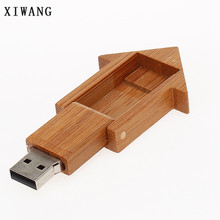 USB flash drive 128gb real capacity new wood hammer mini 4GB 8GB pendrive 16GB pen 32GB 64GB usb memory stick wedding gift