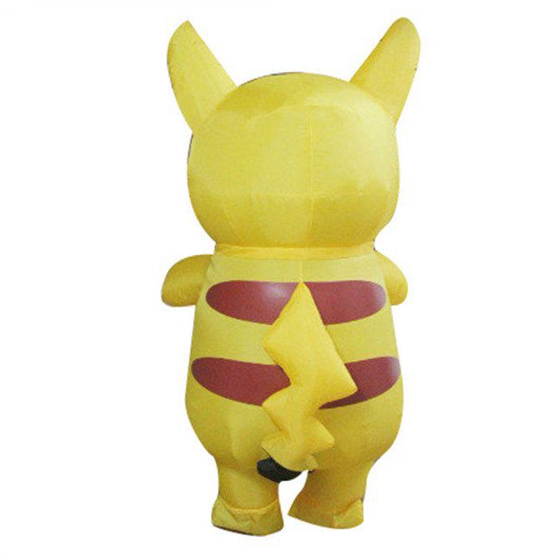Nieuwste Pikachu Kostuum Leuke Halloween Kostuums Voor Volwassen - Carnavalskostuums - Foto 3