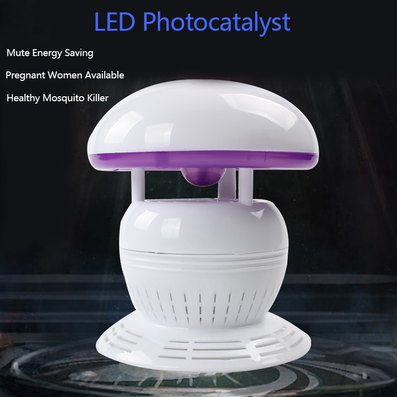 Mushroom Shape mosquito lamp lovely bedroom Mute summer mosquito lamp USB charge portable mosquito repellent device