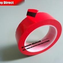 20 мм* 66 метров красная однолицевая приклеенная изоляционная майларовая лента для моторов, огнеупорная