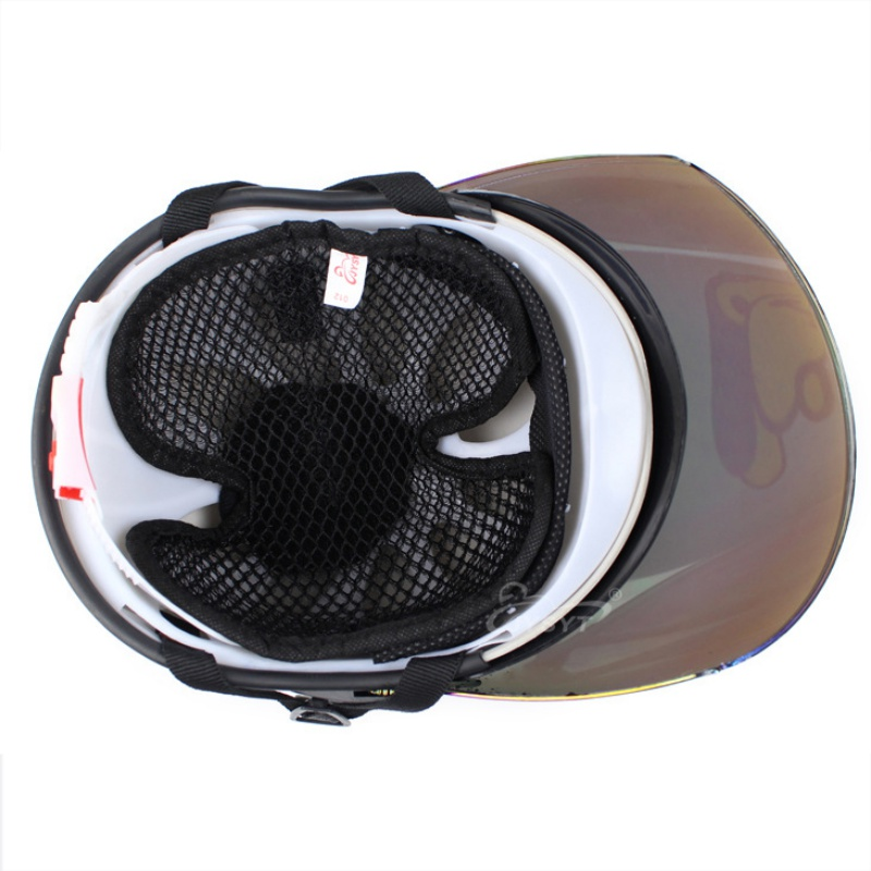 Helmet Protector Protective Heat Insulated Textile Pad Breathable Mesh Type