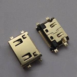 Plaques coupantes SMT, plaqué or, cuivre 19 broches, MINI prise femelle HDMI 8.5mm, 10 pièces