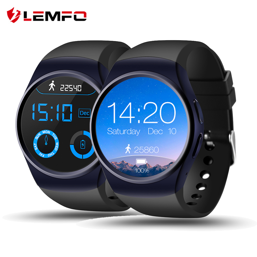LF18 Bluetooth Smart Watch Phone Full Screen Support SIM TF Card Smartwatch Heart Rate for Apple IOS Android Reloj Inteligente