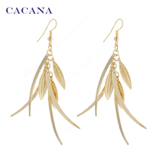 Серьги позолоченные  CACANA, высокое качество