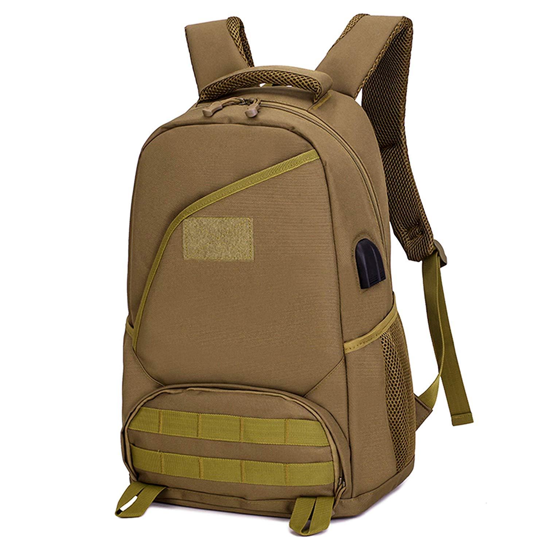 Sac à dos de promenade décontracté tactique 25L militaire assaut sac à dos étanche collège école sac à dos randonnée voyage Camping sacs à dos