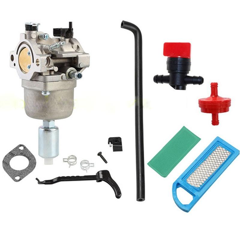 цена на For Briggs & Stratton Intek 18HP Carb 791858 792358 793224 794572 Carburetor Air Filter line Kit