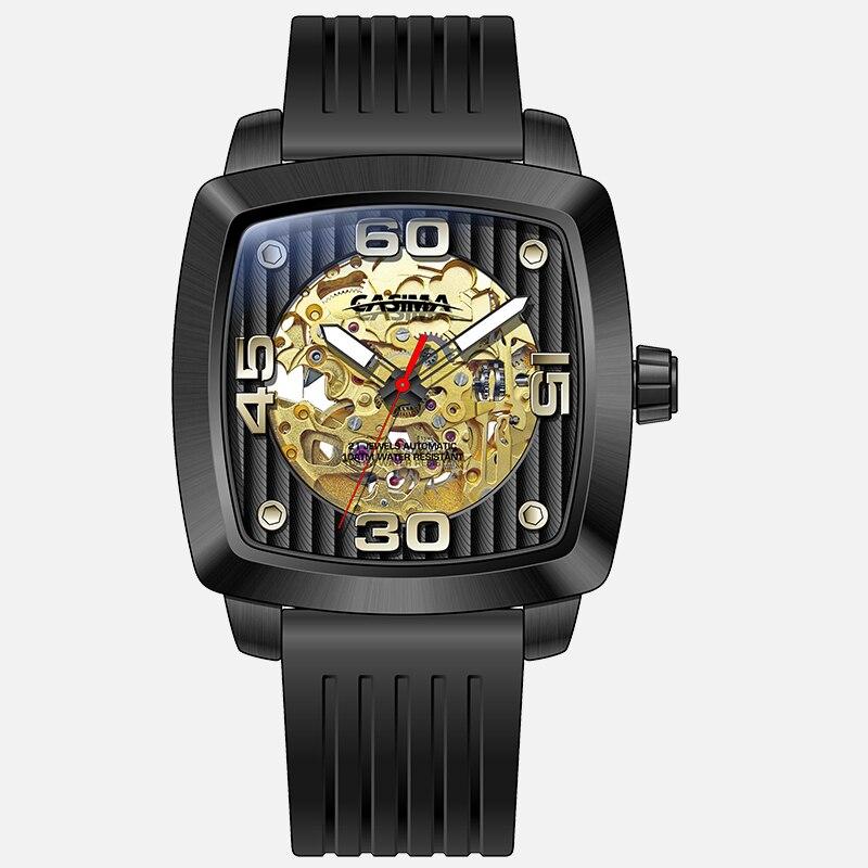 Automatic mechanical men's watch luxury brand watches men fashion business dress classic watch gold waterproof 100m CASIM #6912