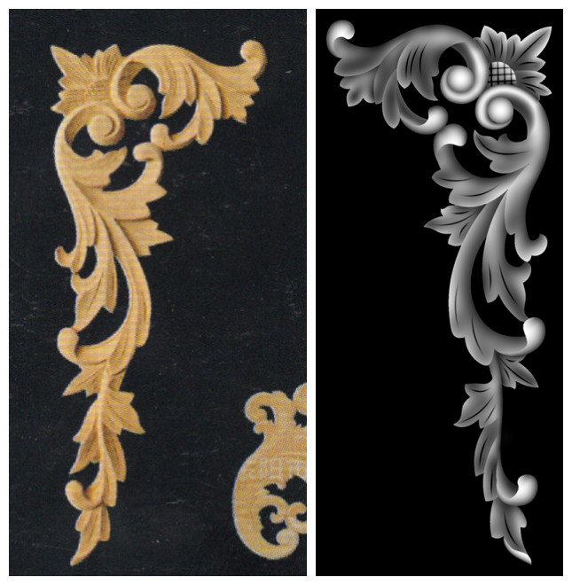 Relief engraving wood carving fashion signs door