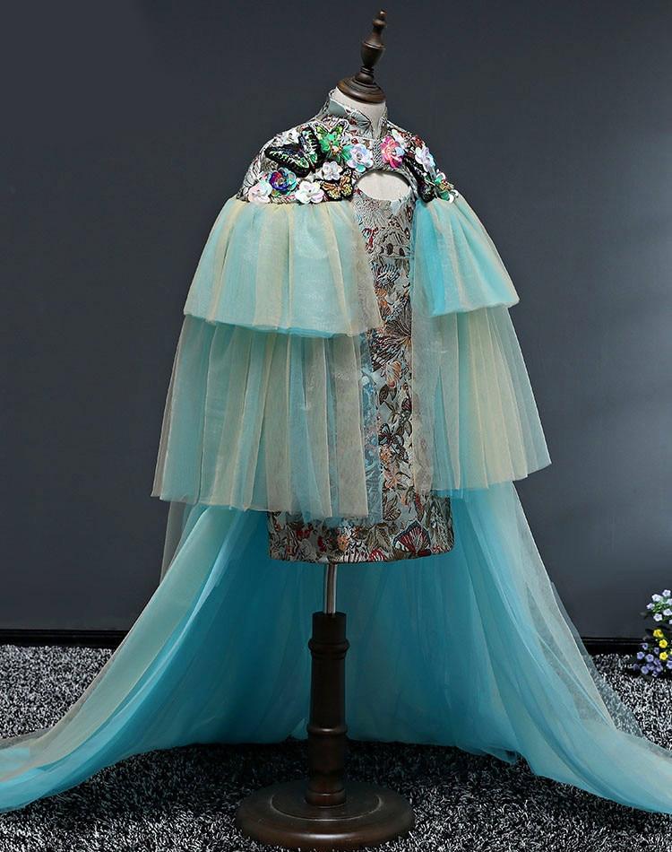 High Quality fashion girl dress