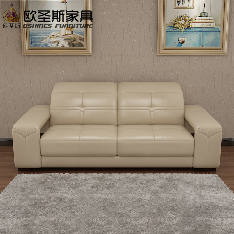 2017 New modern sectional furniture living room full leather sofa set with wood legs adjustable headrest storage arm 629A giantex futon sofa bed convertible recliner couch splitback sleeper with wood legs modern living room furniture hw57254